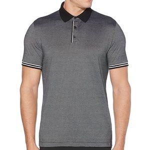Gray Perry Ellis Short Sleeve Polo